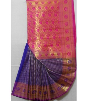 Banarasi Saree With Full All Over Zari Work