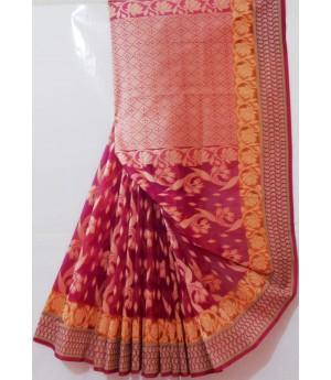 Bindiya Kora By Kora Designer Resham Saree