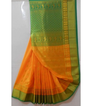 Banarasi Saree With Heavy Zari Aanchal & Boota All Over