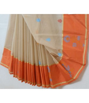 Arni Pure Cotton Saree With Resham Work & Brocade
