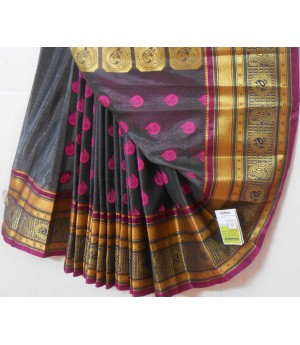 Banarasi Silk Zari All Over With Resham Boota Saree