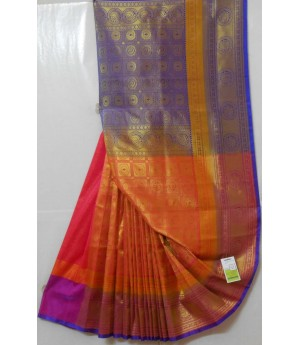 Banarasi Silk Saree With All Full Zari Work