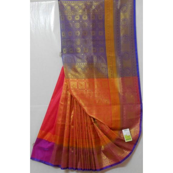 Banarasi Silk Saree With All Full Zari Work