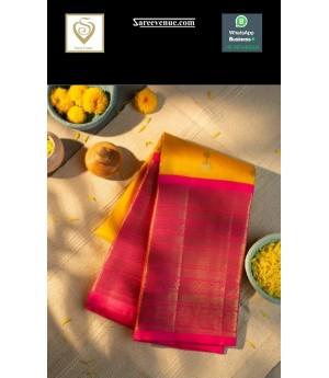 Banarasi Silk Saree All Over Jhumka Pattern Weave With Wide Gold Zari Brocade
